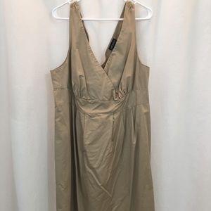 Lane Bryant Cross Front Dress